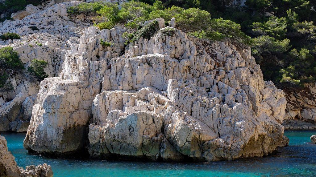 Calanque à Marseille
