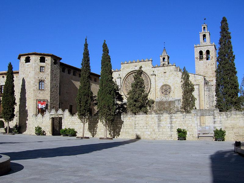 Monastère de Sant Cugat del Vallés près de Barcelone